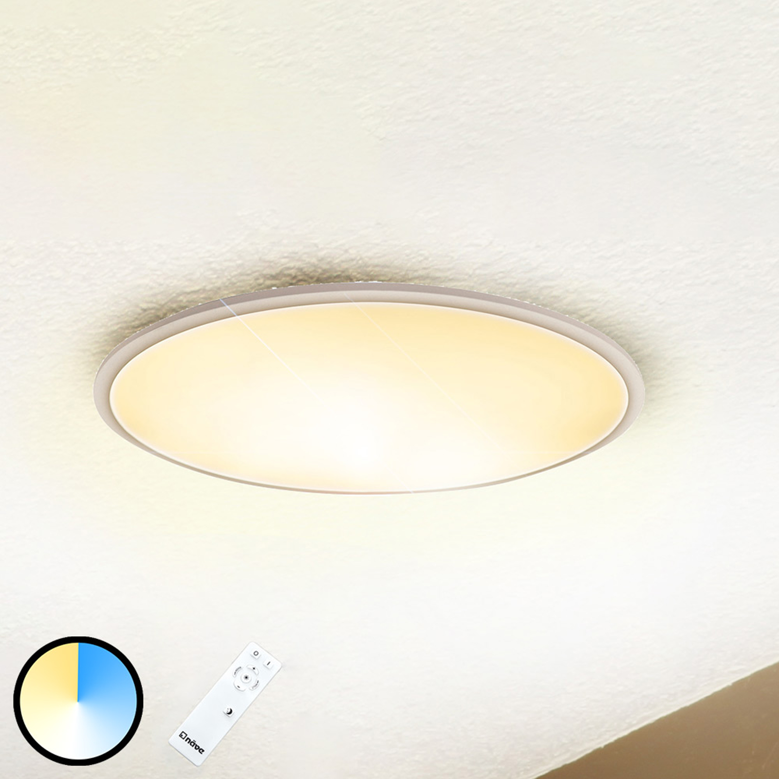 Cameron Led Ceiling Light Remote Control Dimmable Lights Co Uk