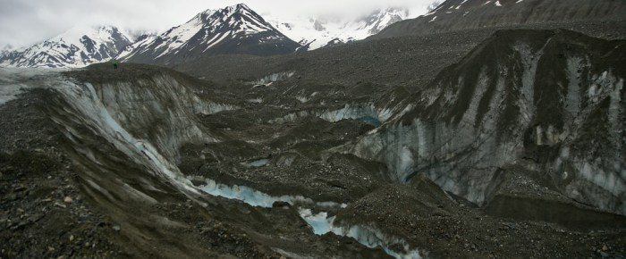 Exploring the Canwell Glacier