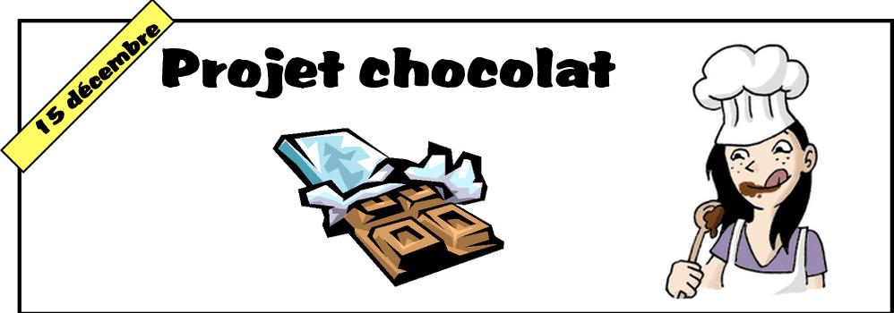 PROJET CHOCOLAT