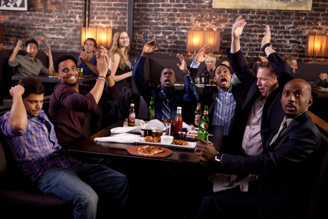 Think Like a Man - Jerry Ferrera, Michael Ealy, Kevin Hart, Terrence J, Gary Owen and Romany Malco
