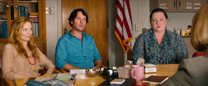 this is 40 movie review -leslie mann, paul rudd and melissa mccarthy