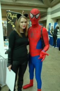 Baltimore Comic Con 2013 - Black Cat and Spidey