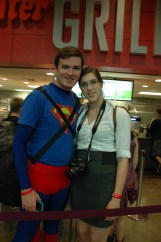 Baltimore Comic Con 2013 - Superman and Lois