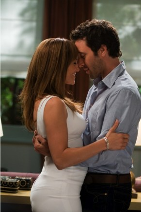 The Back-Up Plan Jennifer Lopez hot dress and Alex O'Loughlin