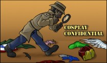 Cosplay Confidential logo