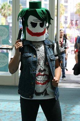 SDCC2014 cosplay -Joker Lego