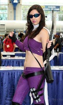 SDCC2014 cosplay - Kate Hawkeye