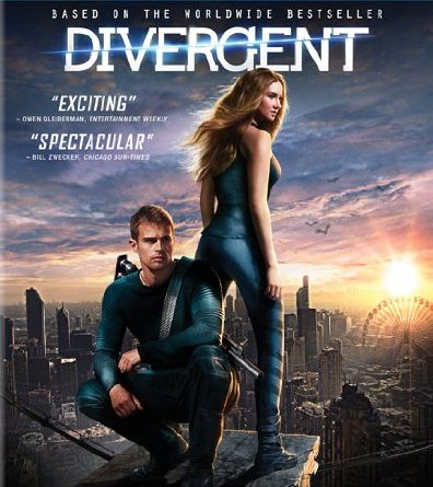 divergent blu ray cover