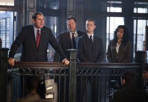 Gotham - Ep. 2 - Bullock and Gordon