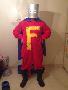 Mike H as Forbush Man