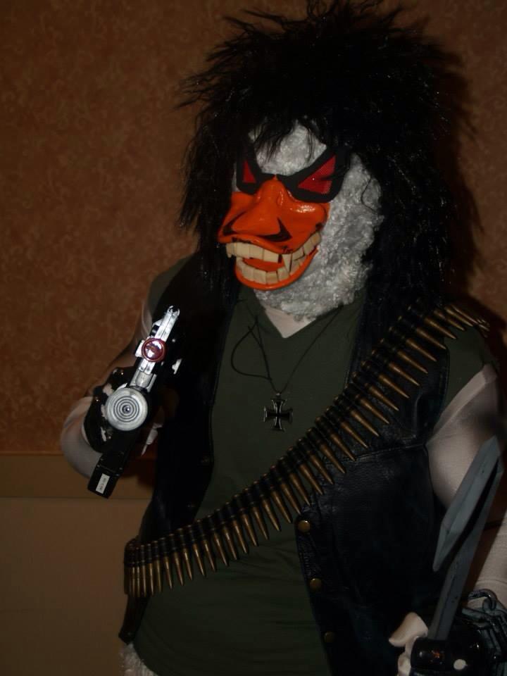 Mike H as Lobo Duck