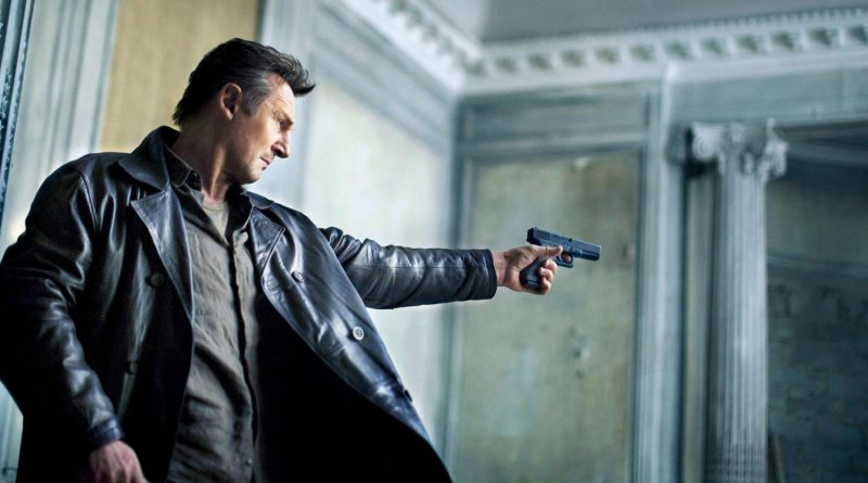 Taken 2 - Liam Neeson aiming