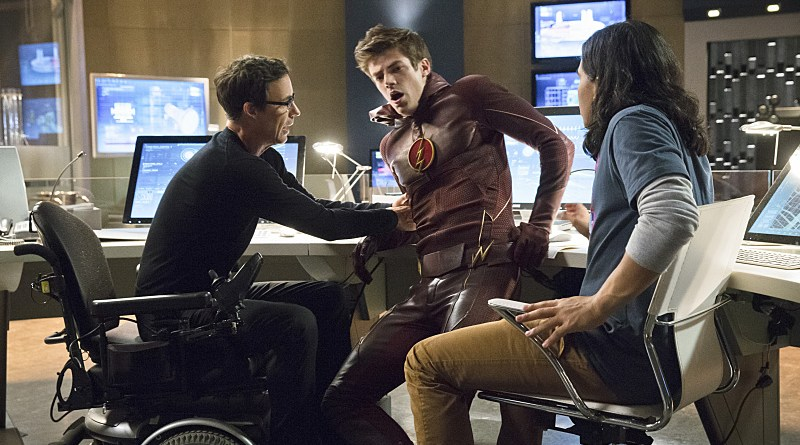 The Flash - Wells, Barry and Cisco
