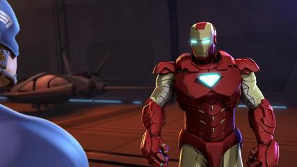 Iron Man and Captain America - Heroes United - Iron Man and Cap