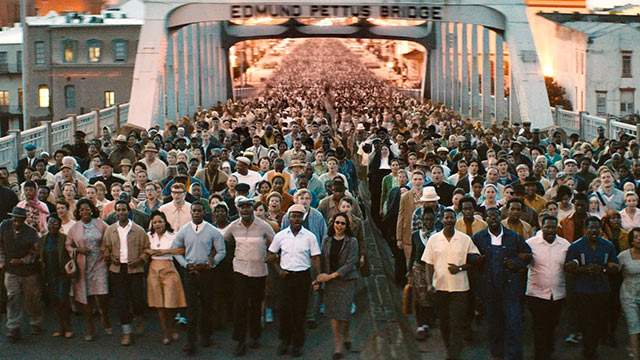 Selma movie - Bridge scene