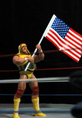 Hulk Hogan Defining Moments figure - real American