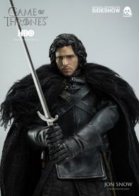 Game of Thrones Jon Snow figure - close up ready for battle