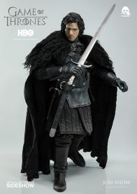 Game of Thrones Jon Snow figure - preparing for battle