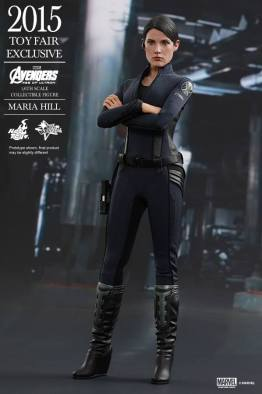 Maria Hill Avengers Age of Ultron Hot Toys figure -standing