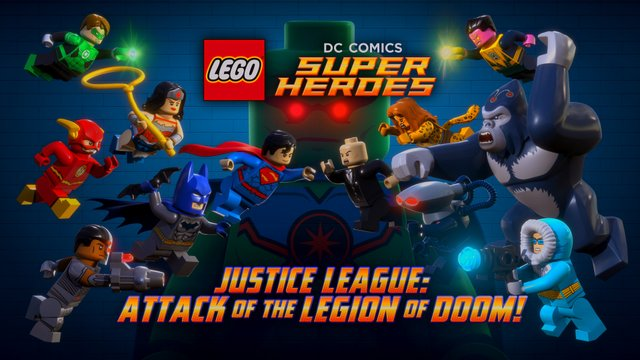 Justice League Attack of the Legion of Doom - Justice League vs Legion of Doom