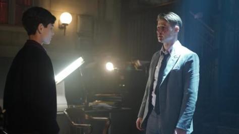 Gotham Ep 2 - Knock Knock -Bruce and Gordon