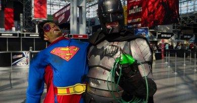 New York Comic Con 2015: Batman cosplay