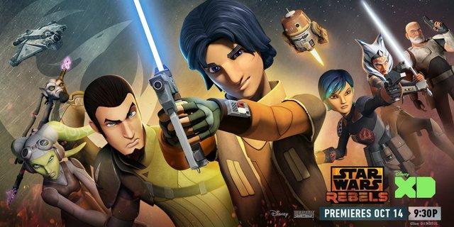 Star Wars Rebels Heroes Aug. 30