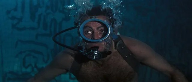 Thunderball -Bond underwater