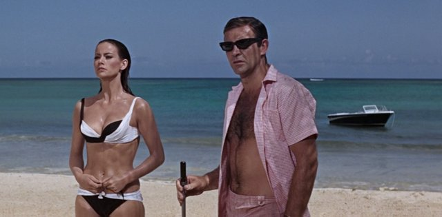 Thunderball - Domino and Bond
