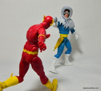 DC Icons The Flash figure review -vs Captain Cold