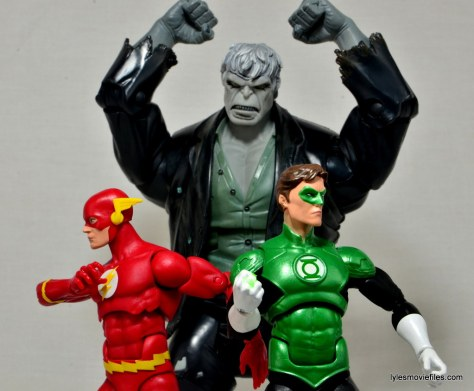 DC Icons The Flash figure review -with Green Lantern vs Solomon Grundy