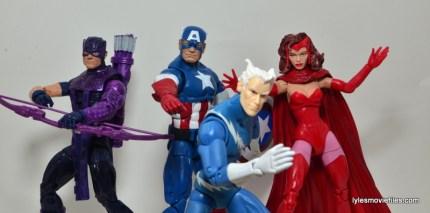 Marvel Legends Captain America review -Cap's Kookey Quartet
