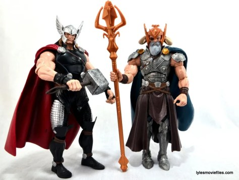 Marvel Legends Odin and King Thor review - Thor and Odin