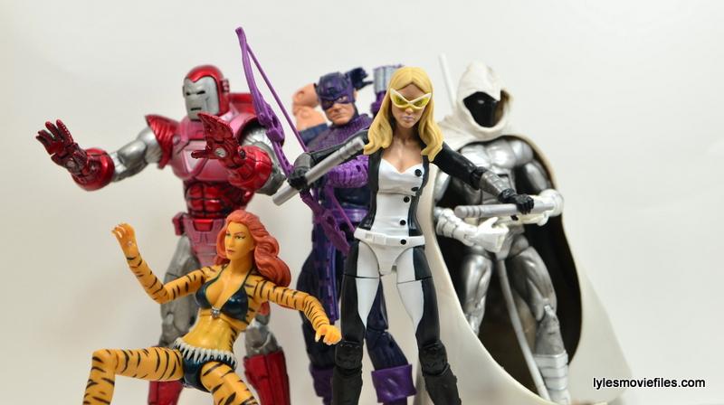 Marvel Legends Mockingbird figure review - West Coast Avengers