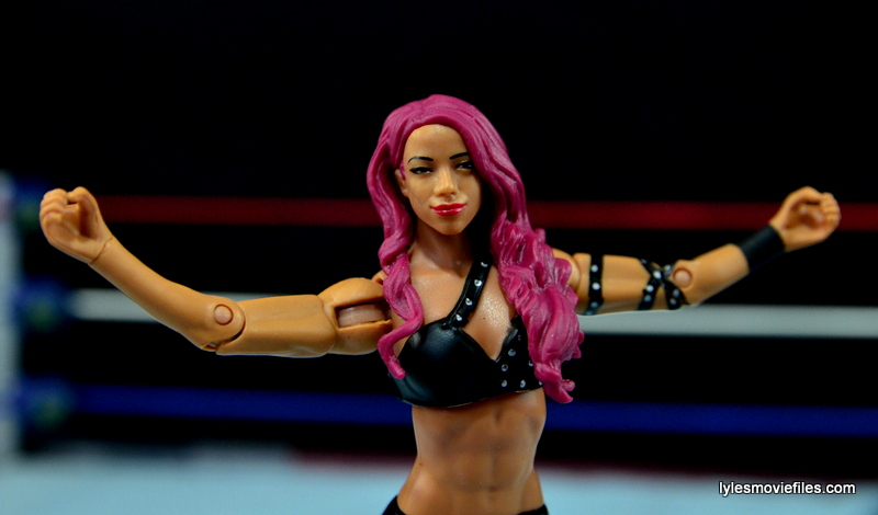 WWE Sasha Banks figure review - like a boss