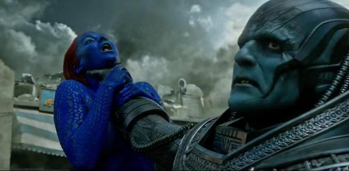 X-Men Apocalypse - Mystique and Apocalypse
