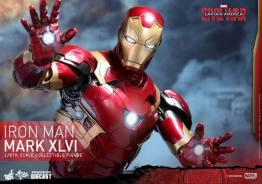 Hot Toys Civil War Iron Man -profile pic
