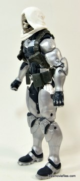 Marvel Legends Taskmaster figure -left side