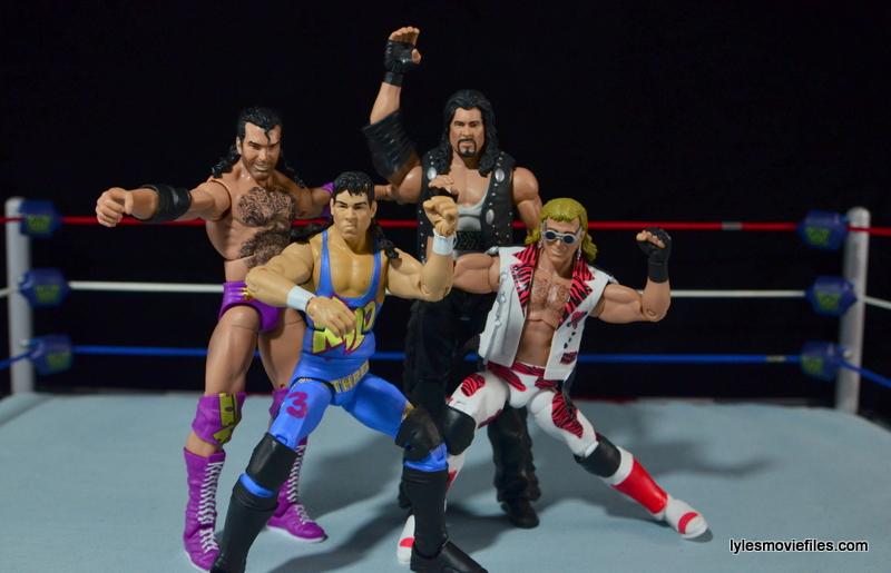WWE 123 Kid figure review - The Kliq