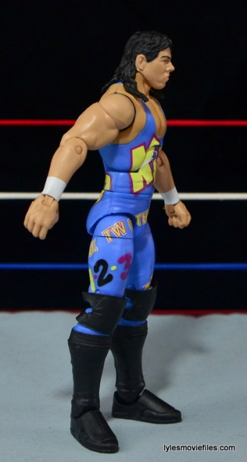 WWE 123 Kid figure review - right side