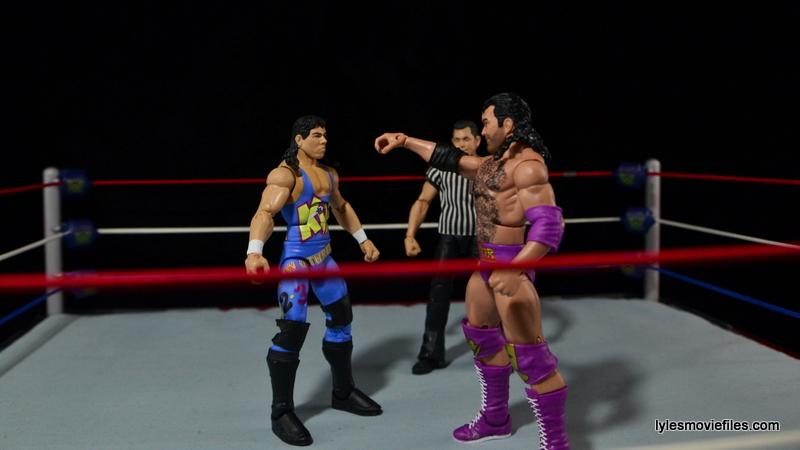 WWE 123 Kid figure review - vs Razor Ramon