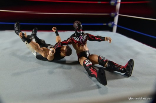 WWE Elite 41 Finn Balor -Sling Blade to Owens