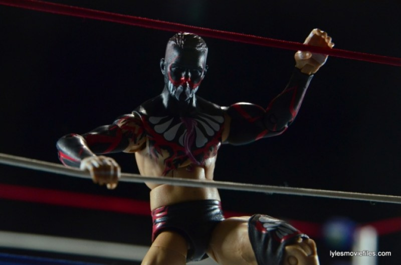 WWE Elite 41 Finn Balor - between the ropes