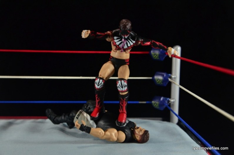 WWE Elite 41 Finn Balor -coup de grace to Kevin Owens