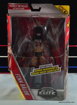 WWE Elite 41 Finn Balor - front package