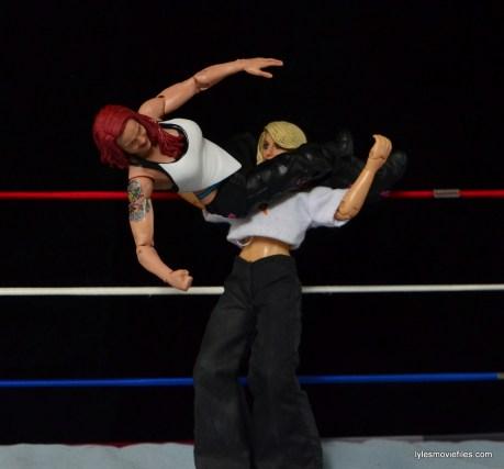 WWE Elite 41 Lita figure -huricarana to Trish Stratus