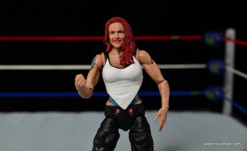 WWE Elite 41 Lita figure -with white top