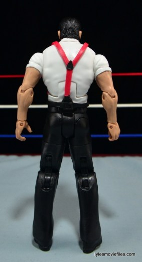 WWE IRS Mattel Elite figure review -rear