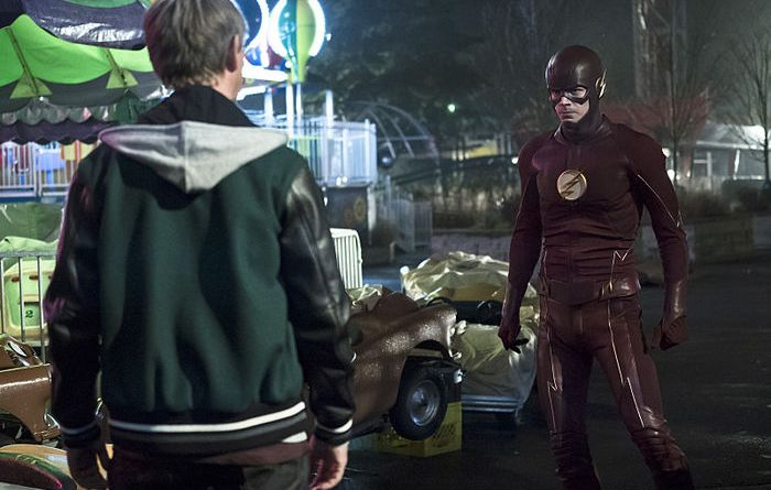 the flash back to normal review - griffin grey and the flash
