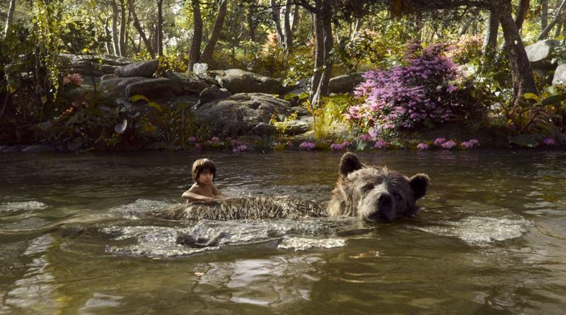 the jungle book review - Baloo and Mowgli-min